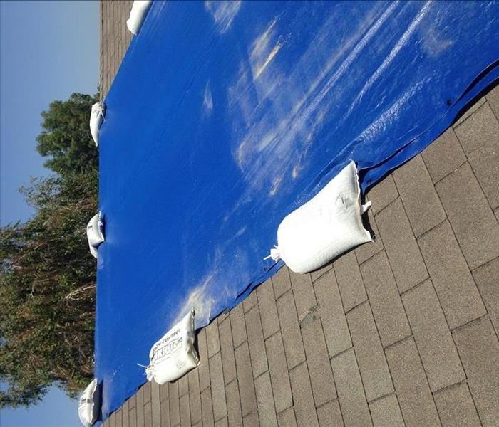 We do Roof Tarping when You Need It!