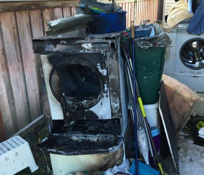Fire Damage How to Prevent Fires Starting from Dryers