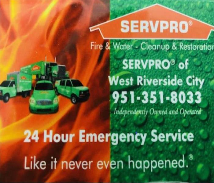 Why SERVPRO 10 Reasons To Use SERVPRO of West Riverside City