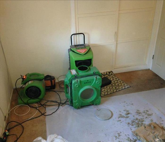 Water Damage SERVPRO helps Corona Homeowner after Regular Business Hours